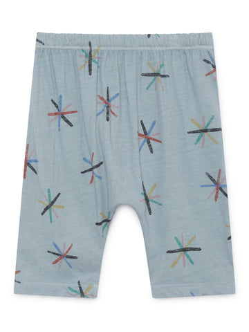 Bobo Choses Light Blue Danelion Baggy Pants | POCO KIDS