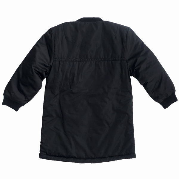 Repose AMS Black Bomber Coat, back | POCO KIDS