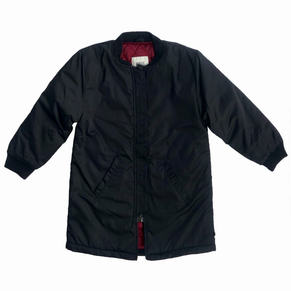 Repose AMS Black Bomber Coat | POCO KIDS