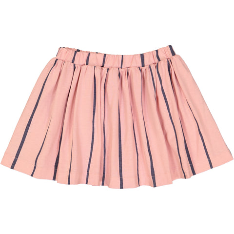 Jax & Hedley Pink and Nimbus Grey Striped Sunset Skirt | POCO KIDS