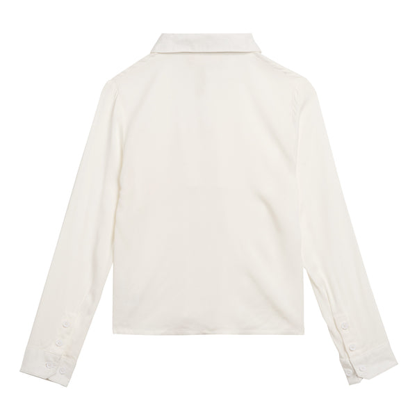 Little Eleven Paris White Rixies Shirt- Back | POCO KIDS