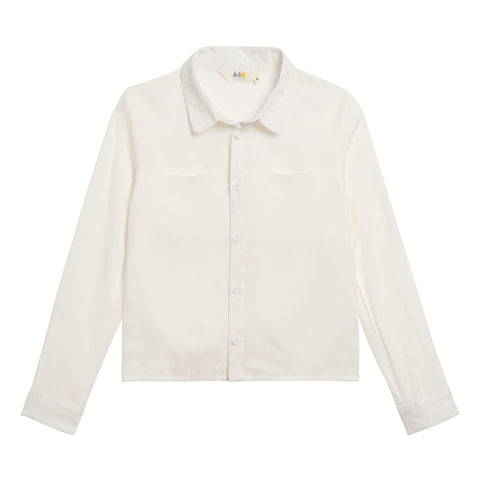 Little Eleven Paris White Rixies Shirt | POCO KIDS