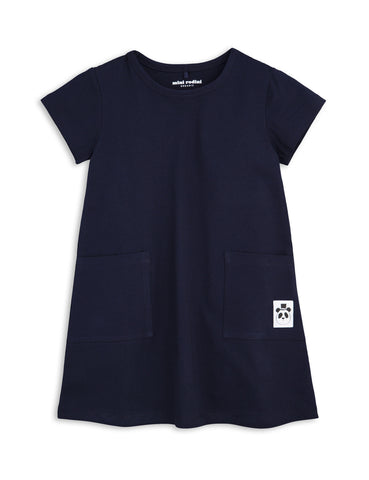 Mini Rodini Navy Dress Basic Series | POCO KIDS