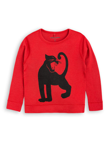 Red Panther Merino Wool Top