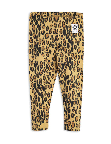 Mini Rodini Basic Leopard Leggings | POCO KIDS