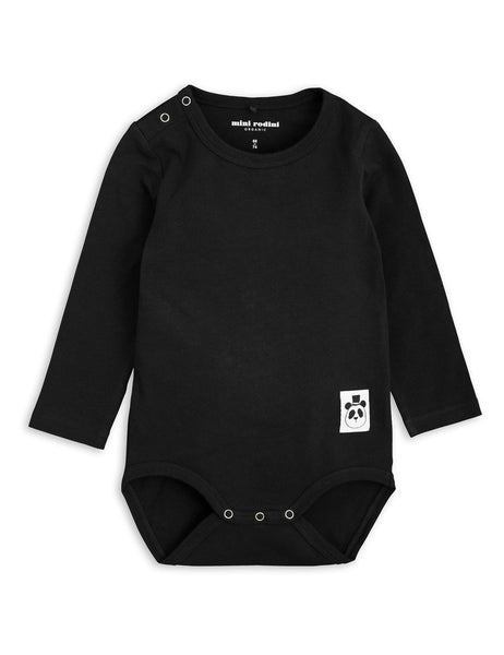 Mini Rodini Black Baby Body | POCO KIDS