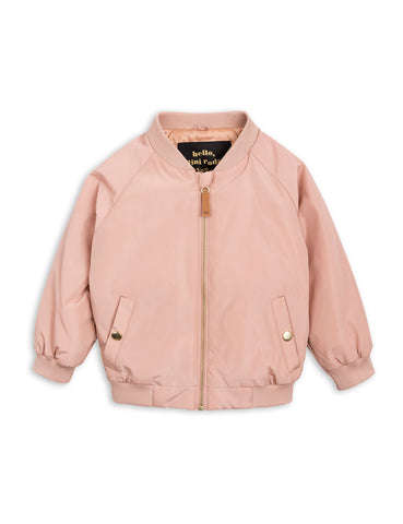 Mini Rodini Beige Draco Baseball Jacket | POCO KIDS