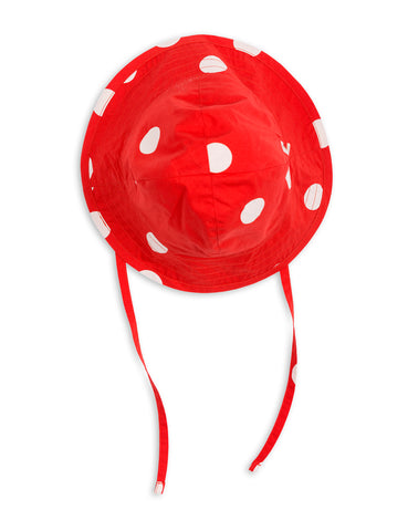 Mini Rodini Red Dot Sun Hat| POCO KIDS