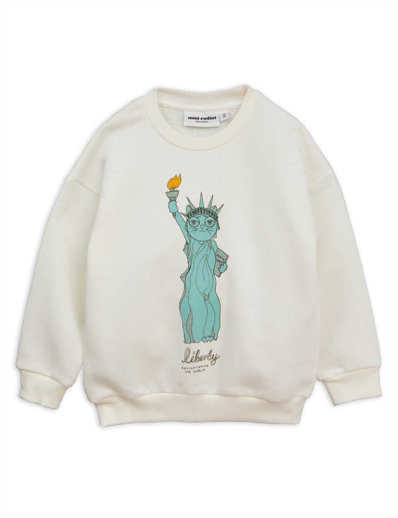 Mini Rodini White Liberty Sweatshirt | POCO KIDS