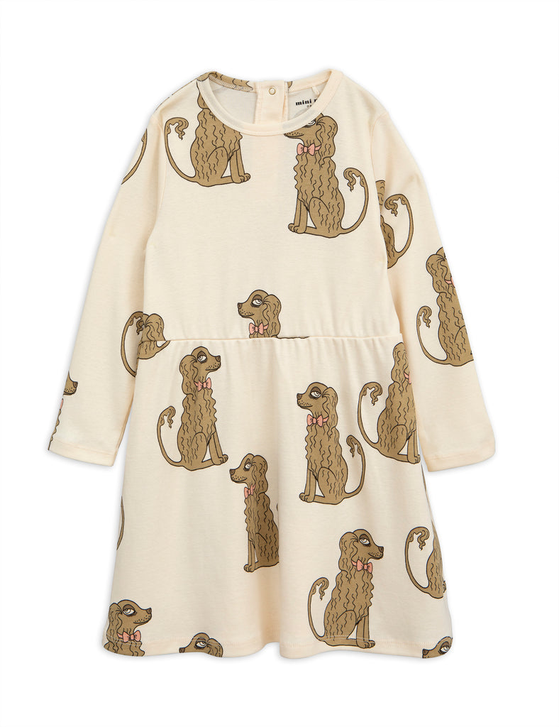 Mini Rodini Off White Spaniel Dress | POCO KIDS