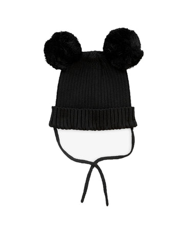 Mini Rodini Black Ear Hat | POCO KIDS
