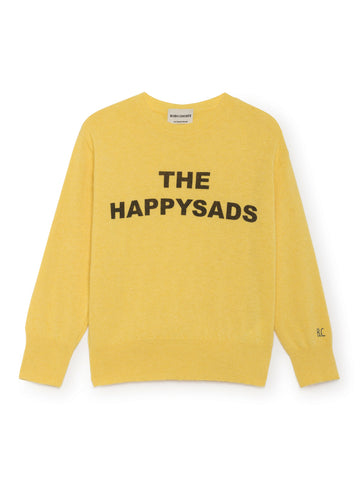 Bobo Choses Yellow Happy Sads Jumper | POCO KIDS