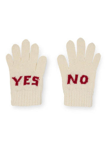 Bobo Choses Off White Yes No Gloves | POCO KIDS