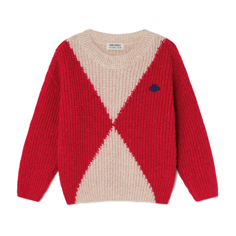 Bobo Choses Geometric Saturn Knitted Jumper | POCO KIDS