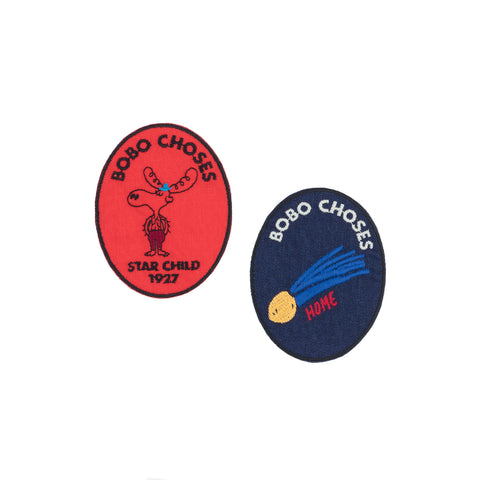 Bobo Choses Moose and Comet Patches | POCO KIDS