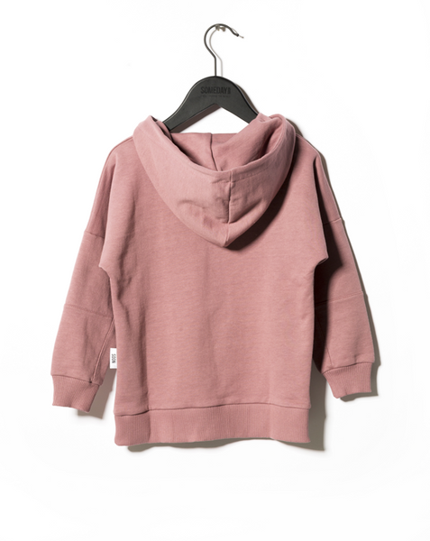 Pink Carmel Hooded Sweatshirt