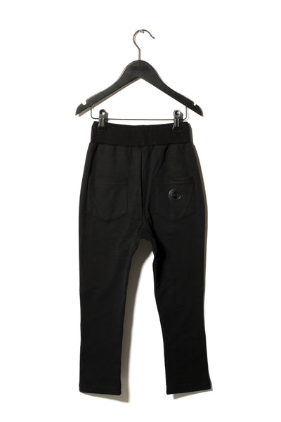 Sometime Soon Black Anton Sweatpants | POCO KIDS