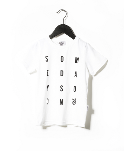 Someday Soon White Hope T-Shirt | POCO KIDS