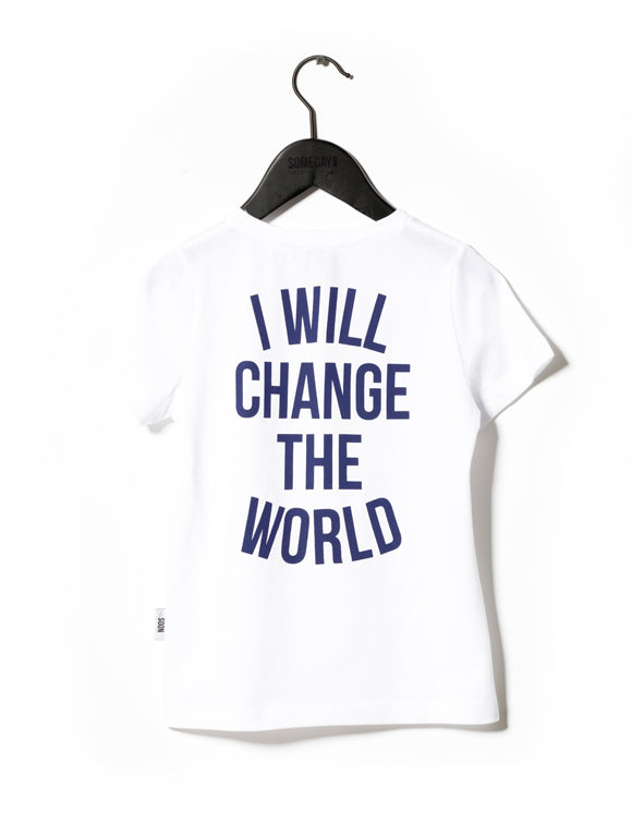 Someday Soon White Revolution T-Shirt | POCO KIDS