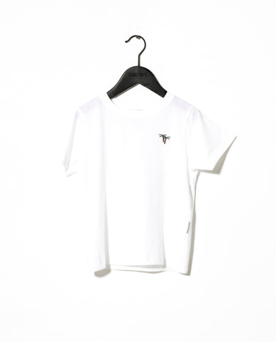 Sometime Soon White Marino T-Shirt | POCO KIDS