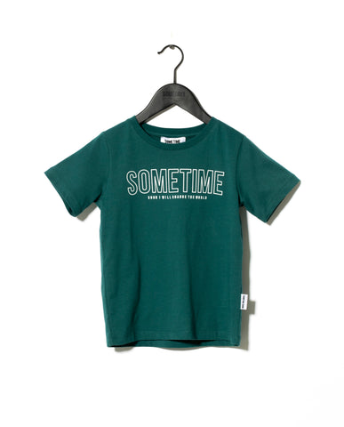Sometime Soon Green Imperial T-Shirt | POCO KIDS