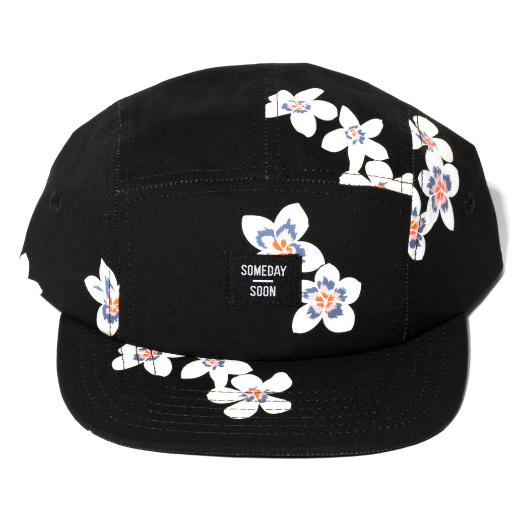 Someday Soon Vista Flower Print 5 Panel Cap | POCO KIDS