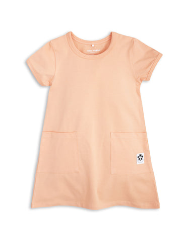 Mini Rodini Pink Dress Basic Series | POCO KIDS