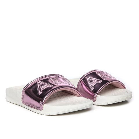 AKID Rose Gold Aston Sliders | POCO KIDS