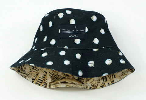 Bunny Black Bucket Hat
