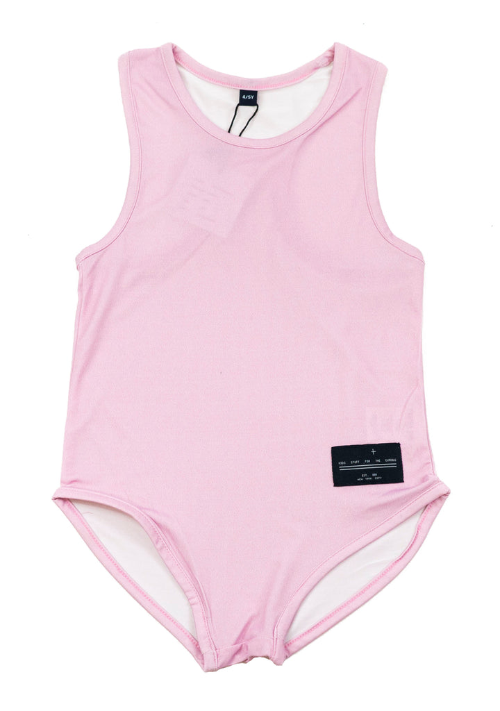 Agatha Cub Pink Swimsuit, front | POCO KIDS