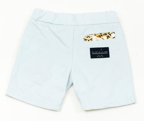 Powder Blue Chino Shorts