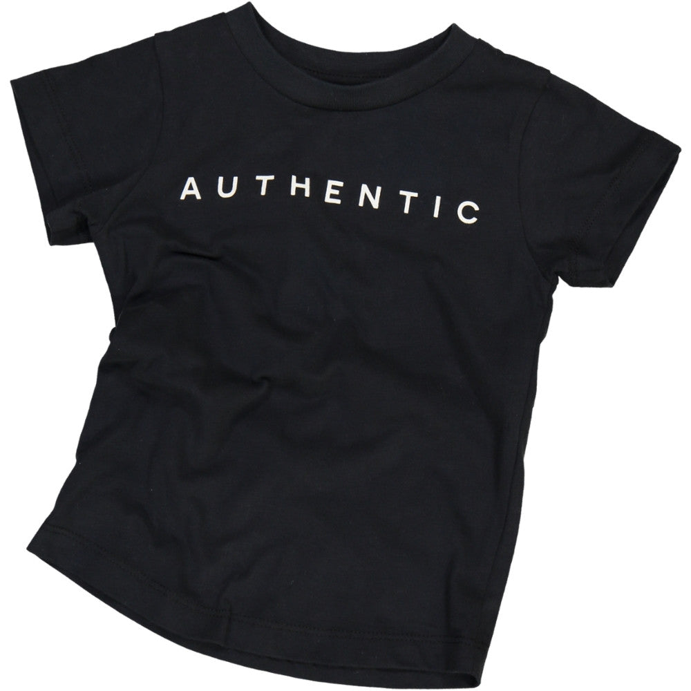 Jax & Hedley Black Authentic T-Shirt | POCO KIDS
