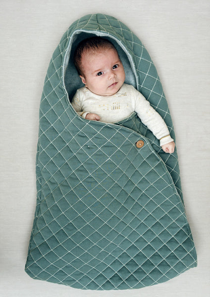 Kidscase Grey Nest for Baby and Car Seat-Lookbook Image | POCO KIDS
