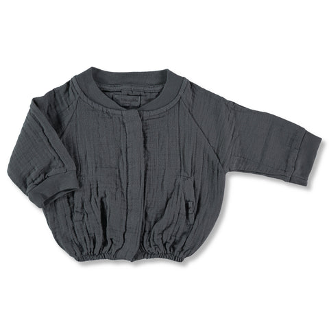 My Little Cozmo Dark Grey Sena Jacket | POCO KIDS