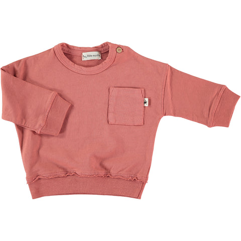 My Little Cozmo Rose Pink Minimal Sweatshirt | POCO KIDS