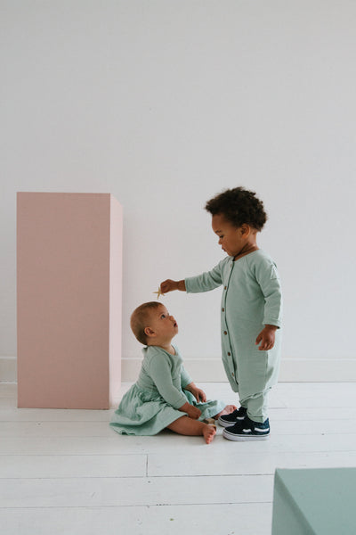 Frnky's Sea Foam Jumpsuit look book image | POCO KIDS