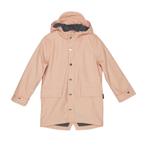Go Soaky Dusty Pink Lazy Geese Rain Jacket | POCO KIDS
