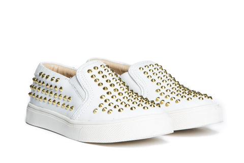 Liv White Gold Stud