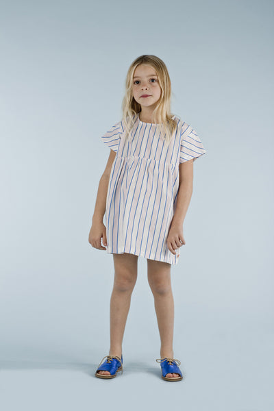 Tinycottons Stripes Oversized Dress, look book image | POCO KIDS
