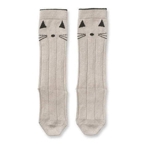 Liewood Sweet Rose Cat Knee High Socks | POCO KIDS