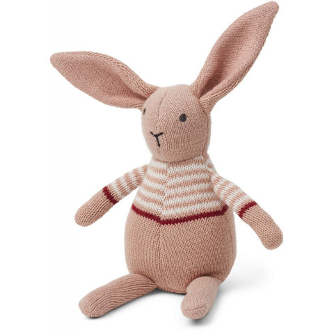 Liewood Rose Pink Rabbit Knitted Teddy | POCO KIDS