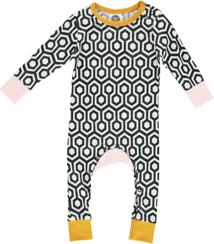 The Bright Company Linea Hex Monty Sleep suit | POCO KIDS