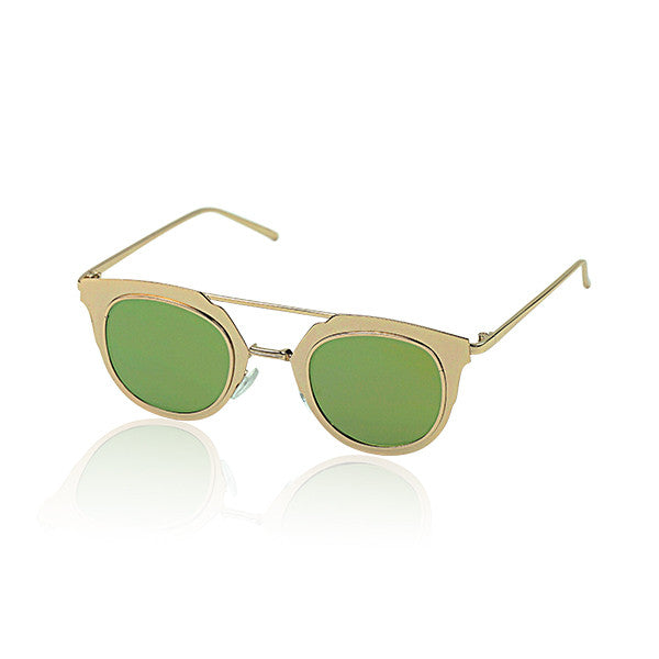 Milk & Soda Gold Jardin Sunglasses | POCO KIDS
