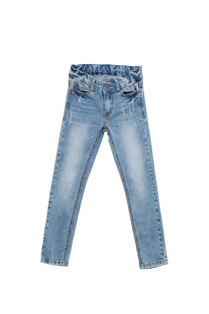 I Dig Denim Blue Madison, skinny ankle grazer Jeans | POCO KIDS