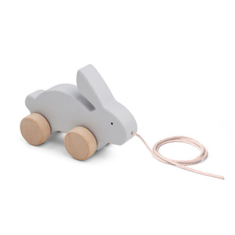 Liewood Dumbo Grey Rabbit Abby Pull Along Toy | POCO KIDS