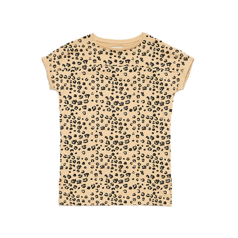 Repose AMS Roar Leopard Print T-shirt Dress | POCO KIDS