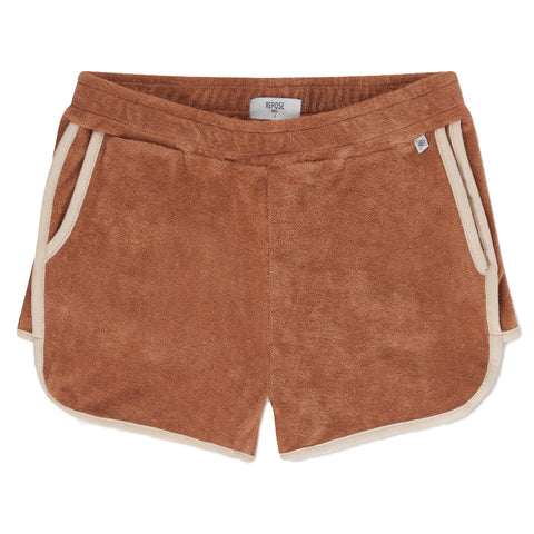 Repose AMS Warm Caramel Sporty Shorts | POCO KIDS
