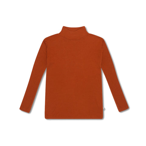 Repose AMS Warm Hazel Turtle Neck Top | POCO KIDS