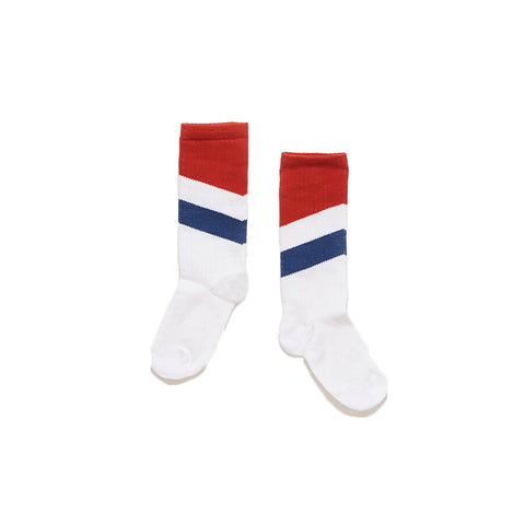 Repose AMS Blue and Red long Socks | POCO KIDS