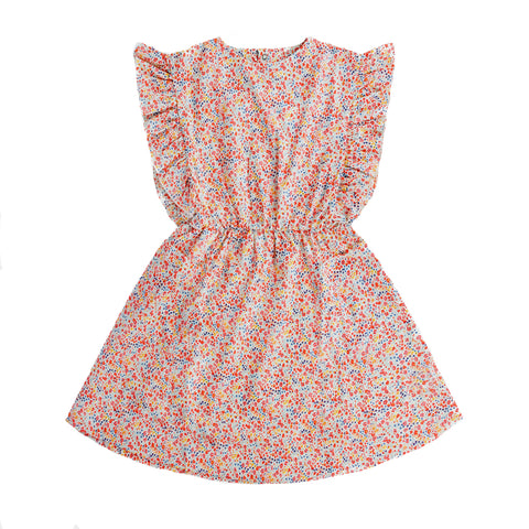 Repose AMS Liberty Flower Ruffle Dress | POCO KIDS